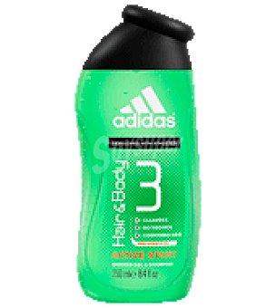 Adidas Gel masculino active start para cabello y cuerpo 400 ml
