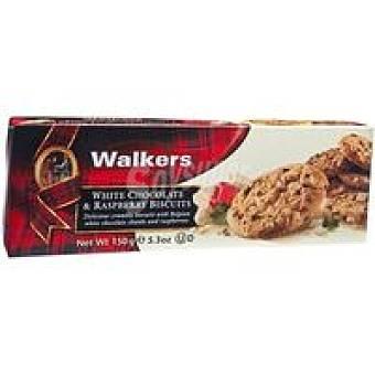 Walkers White choco&raspb Caja 150 g