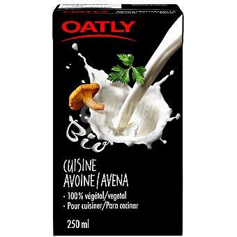 OATLY Cuisine crema líquida de avena para cocinar 100% vegetal envase 250 ml