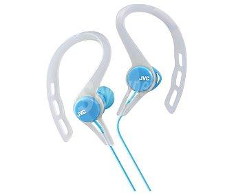 JVC HA-ECX20-A-E Auricular deportivo, con cable, color azul