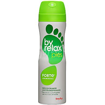 BYLY BYRELAX Desodorante para pies antitraspirantes doble accion spray 200 ml Spray 200 ml