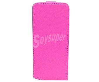MUVIT Funda Slim y protector de pantalla para iphone 5 Rosa