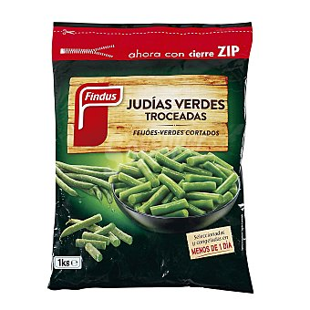 Findus Judías verdes troceadas Bolsa 1 Kg