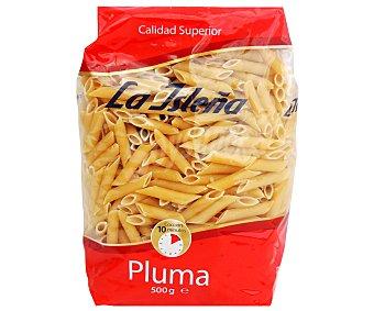 La Isleña Plumas, pasta de sémola de trigo duro de calidad superior 500 Gramos