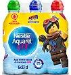 Agua mineral natural (tapón especial niños) Pack 6 pets x 33 cl - 1,98 l Aquarel Nestlé