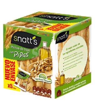 GREFUSA SNATT'S Palito pipas Pack de 5x40 g