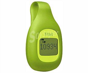 FITBIT ZIP Monitor fitness de actividad FB301G Verde, monitoriza: los pasos, minutos activos, calorías quemadas y distancia recorrida. Pantalla con Reloj