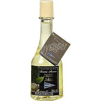 Hipercor Vinagre de vino a los cuatro aromas Botella 25 cl