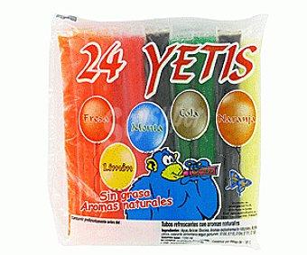 YETIGEL 24 Yetis Sabores 24x50ml