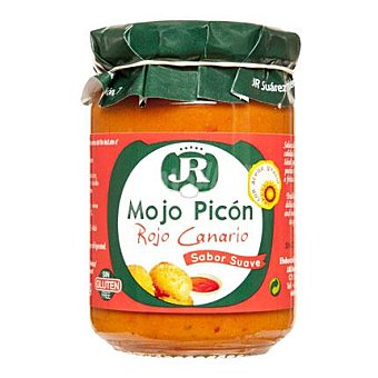 JR Mojo picón rojo canario Tarro de 135 g