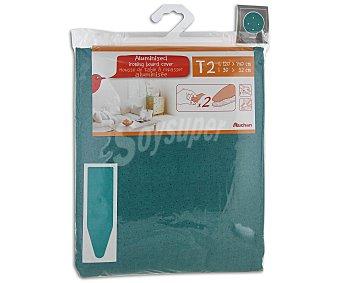 Auchan Funda tabla planchar exterior aluminizado 4 milímetros talla 2, 120-14x39-52 centímetros 1 Unidad