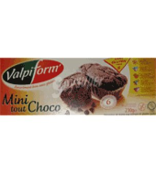 Valpiform Minibizcocho chococate 230 g.