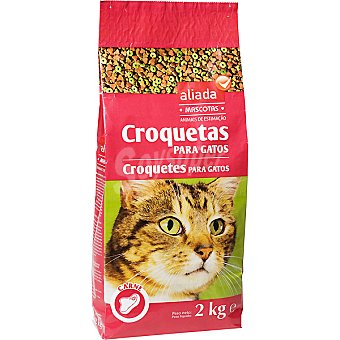 Aliada Croquetas para gatos mix carne Bolsa 2 kg