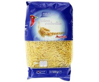 Auchan Fideo cabellín, paquete 500 gramos