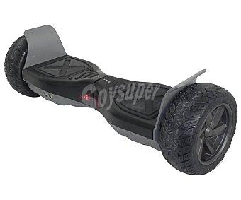 """ZEECLO H4x4 Hoverboard o scooter de autoequilibrio eléctrico todoterreno con motor de 350w, rueda de 21,59cm. (8,5""""), color negro, H4x4 zeeclo"""