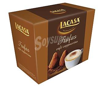 Lacasa Trufas de cacao y aroma café capuccino 200gr