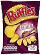 Patatas fritas con sabor a jamón 45 gramos Ruffles