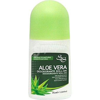 S&S Desodorante roll-on Aloe Vera Envase 75 ml
