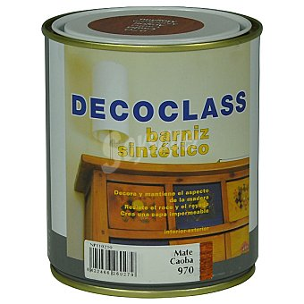 DECOCLASS Barniz sintético mate color caoba 750 ml