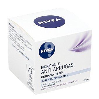 Crema antiarrugas cuidado de día para todo tipo de pieles