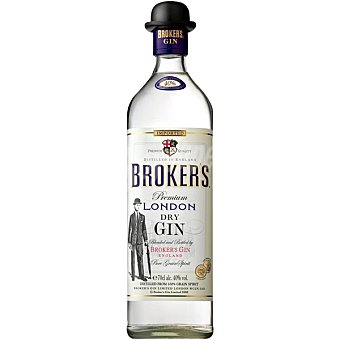 BROKERS Ginebra premium London  botella 70 cl