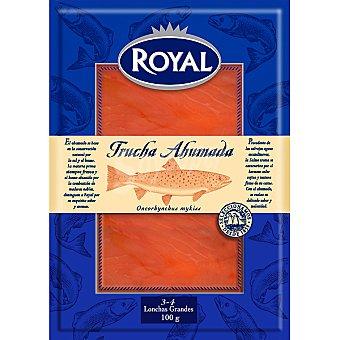 Royal Trucha ahumada Sobre 100 g