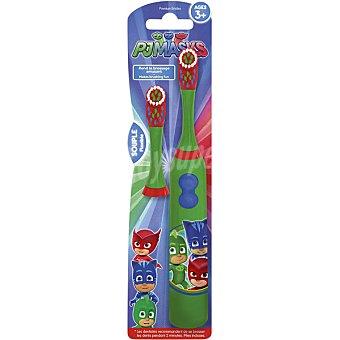 Pjmasks Cepillo de dientes eléctrico infantil con cabezal a partir de los 3 años blister 1 unidad + 1 recambio blister 1 unidad + 1