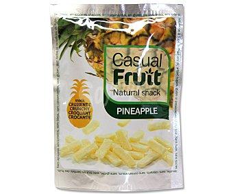 CASUAL FRUIT Piña crujiente bolsa de 15 gramos