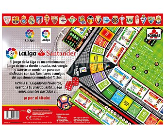 Educa Juego de mesa de estrategia La Liga , hasta 4 jugadores 1 unidad