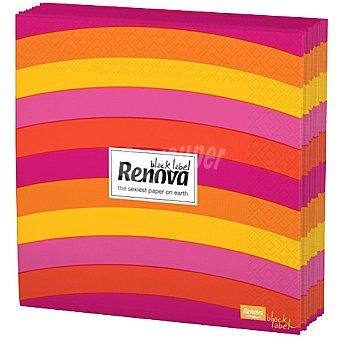Renova Servilletas Black Label Mallorca paquete 12 unidades Paquete 12 unidades