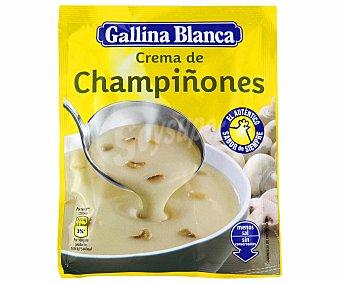 Gallina Blanca Sopa de Crema de Champiñón Sobre 62 Gramos