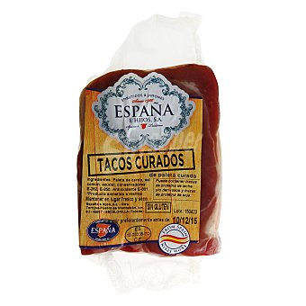 España e Hijos Tacos de paleta curada 170.0 g.