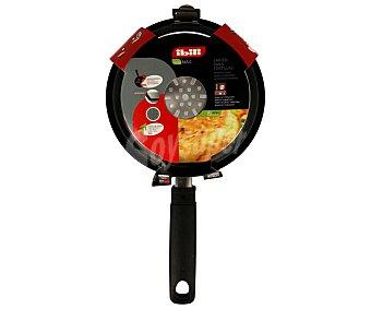Ibili Sartén para mini para tortillas con doble capa interior antiadherente, apta para inducción ibili