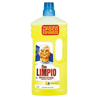 Don Limpio Limpiador multiusos básico aroma limón botella 1.3 lt 1.3 lt