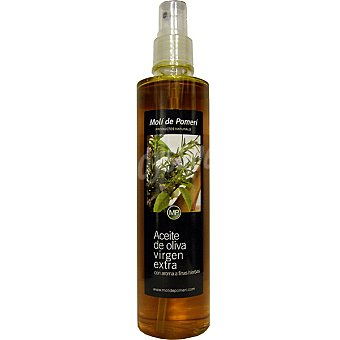 Moli de Pomeri Aceite de oliva virgen extra con aroma a las finas hierbas Spray 250 ml