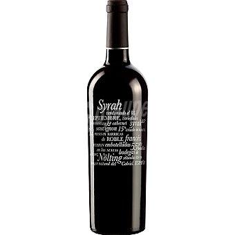 Alvarez nolting Vino tinto syrah de Valencia Botella 75 cl
