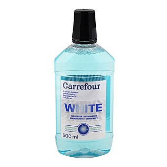 Carrefour Enjuague bucal blanqueador 500 ml
