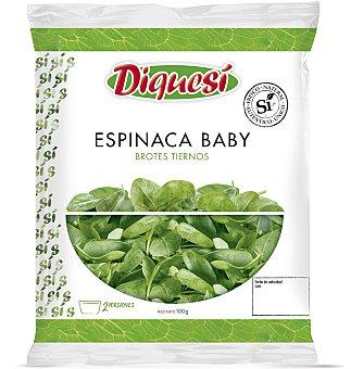 Diquesí Ensalada espinaca baby 100 g