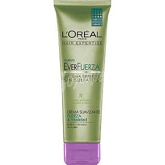 Solar Expertise L'Oréal Paris Crema suavizante everfuerza Fuerza & Vitalidad con aceites botánicos romero y menta tubo 250 ml para cabellos dañados y quebradizos Tubo 250 ml