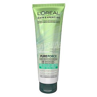 L'Oréal-Hair Expertise Crema suavizante hidratante Pure Force para cabello dañado y quebradizo 250 ml