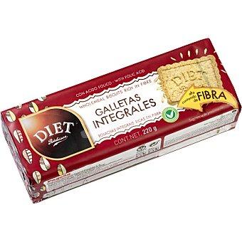 Diet Rádisson Galletas integrales alto contenido en fibra Envase 220 g
