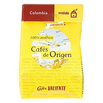 Cafés Valiente Café molido natural de Colombia Paquete 250 g