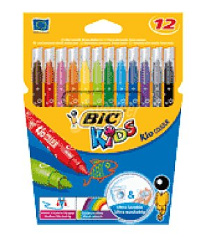 Bic Rotulador Color Kid Couleur 12 ud