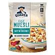 Cereales sin azúcar oat muesli con dátiles y coco 600 g Quaker