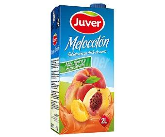 Juver Néctar de melocotón con azúcar 2 l