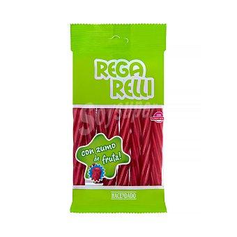 Hacendado Regaliz roja rellena con zumo de frutas (rega relli) Paquete 150 g