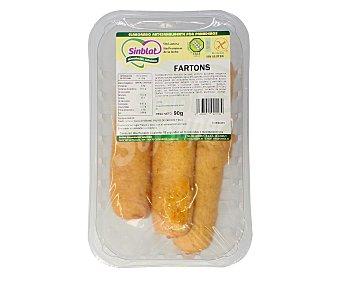 SINBLAT Fartons sin gluten (controlado por la face), sin lactosa y sin proteínas de la leche 90 gramos