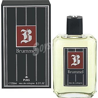 Brummel eau de cologne masculina Frasco 250 ml
