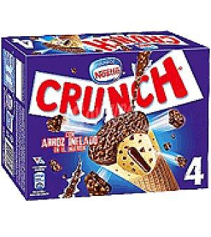 Nestlé Helado Crunch Caja de 4 uds