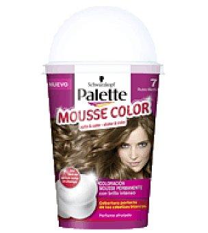 Palette Schwarzkopf Mousse Color 7 Rubio Medio 1 ud